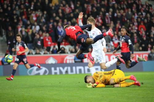 losc vs olympique lyonnais L1 J28 2019-2020 photo laurent sanson-24